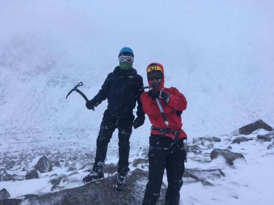 8 Winter draws to a close #winterskills #skitouring #scottishskitouring