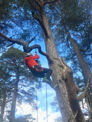 3 Rock climbing, film safety & broken arms in the Cairngorms