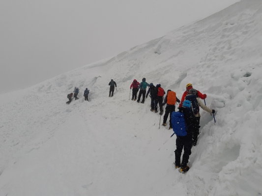 0 Wintry conditions in the Cairngorms #winterskills #winterclimbing #wintermountaineering