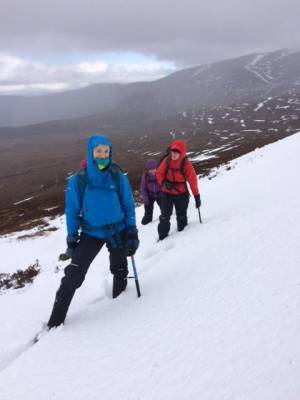 8 Great conditions in the 'Gorms (at last) #winterskills #ski touring #climbing #courses #introduction #cairngorms #Scotland