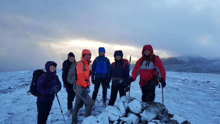 4 Amazing weather of late #winterskills #winterclimbing #wintermountaineering #cairngorms #scotland
