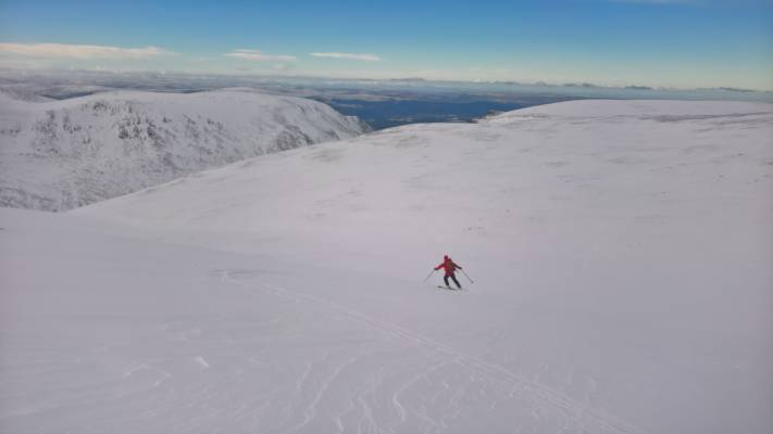 13 Great conditions in the 'Gorms (at last) #winterskills #ski touring #climbing #courses #introduction #cairngorms #Scotland