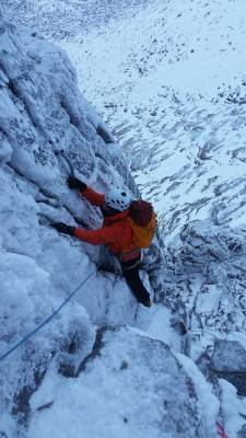 1 Mixed early January conditions #winter #mountaineering #climbing #cairngorms