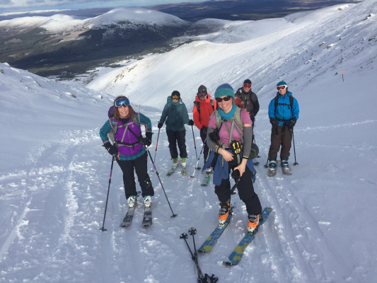 1 February Half Term in the Cairngorms #winterskills #skitouring #winterclimbing #wintermountaineering