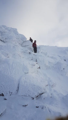 3 Blue Skies and Sunshine (winter skills & winter mountaineers)