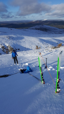 1 Lots of snow in the Cairngorms #winterskills #skitouring #wintermountaineering #winterclimbing