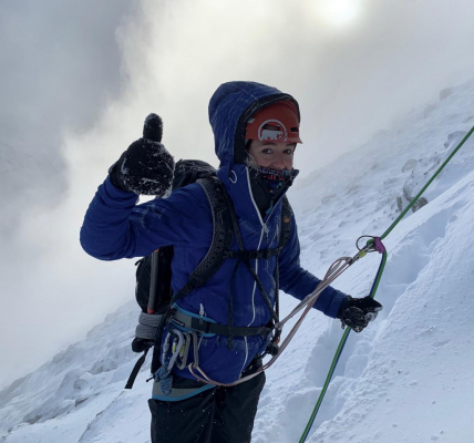 7 Improving conditions #winterclimbing #wintermountaineering #winterskills