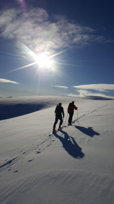 1 Great winter conditions continue #winterskills #wintermountaineering #skitouring #cairngorms #scotland