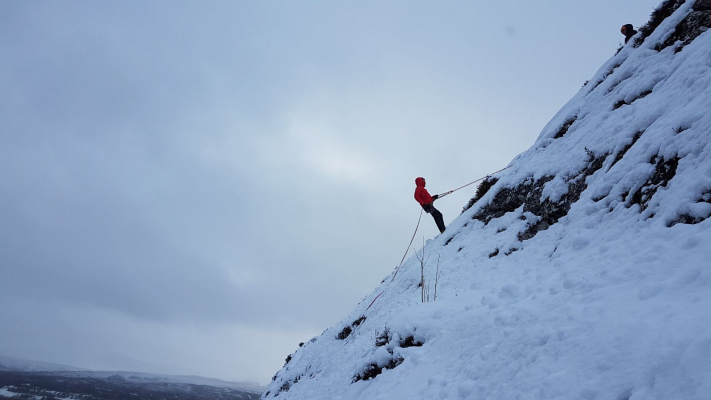 9 Lots of snow in the Cairngorms #winterskills #skitouring #wintermountaineering #winterclimbing