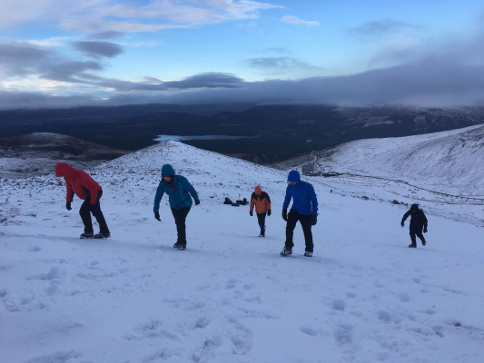 3 Happy New Year! (Winter Climbing Cairngorms & Avalanche Training)