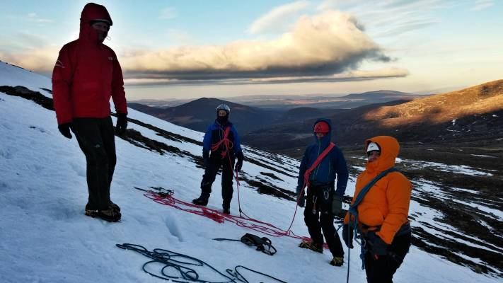 7 Alpine conditions #winterskills #winter mountaineering #climbing #cairngorms