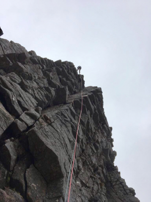 1 Rock climbing, film safety & broken arms in the Cairngorms