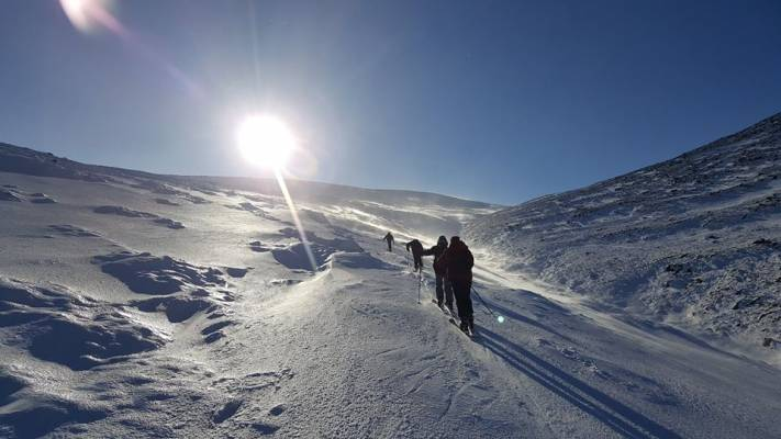0 Busy and snowy half term #winterskills #ski touring # climbing # courses #introduction #cairngorms #scotland