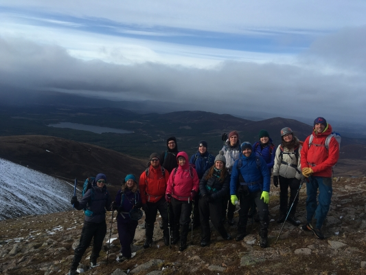 2 Wintry conditions in the Cairngorms #winterskills #winterclimbing #wintermountaineering