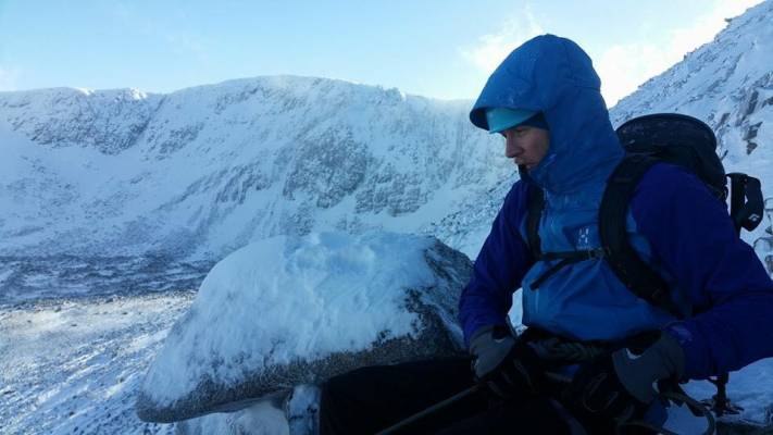 1 Busy and snowy half term #winterskills #ski touring # climbing # courses #introduction #cairngorms #scotland