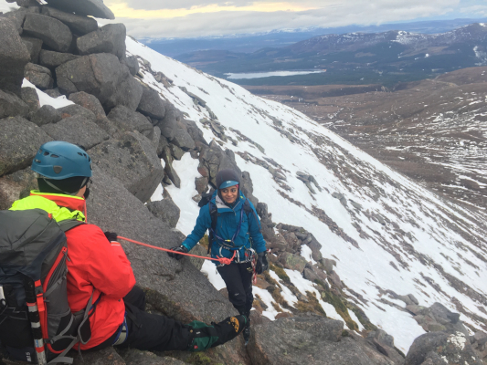 2 Winter Skills & Winter Mountaineering in the Cairngorms