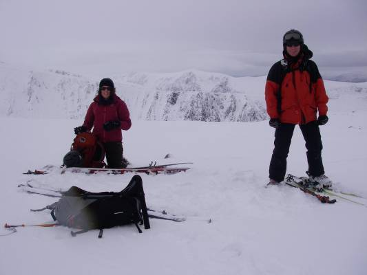1 Great conditions in the 'Gorms (at last) #winterskills #ski touring #climbing #courses #introduction #cairngorms #Scotland