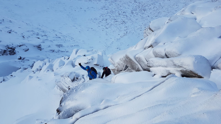 6 The last of 2018! #winterskills #wintermountaineering #winterclimbing #cairngorms