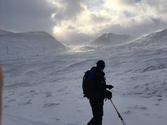 1 Winter makes a return #winterskills #ski touring #cairngorms