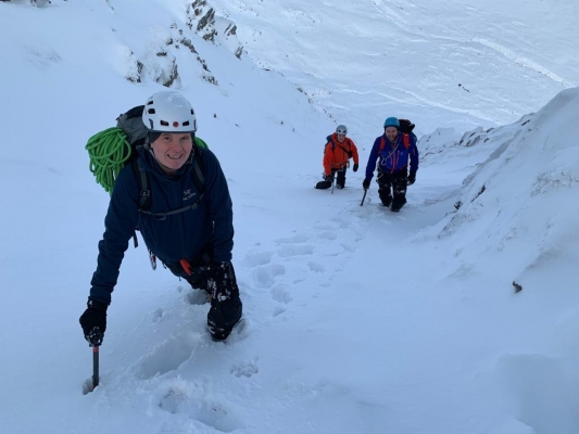 5 Good conditions for walking, skiing and climbing #winterskills #skitouring #winterclimbing