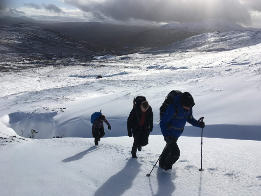 10 February Half Term in the Cairngorms #winterskills #skitouring #winterclimbing #wintermountaineering